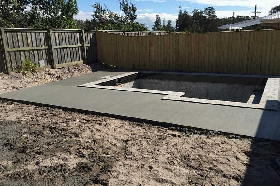 Concrete Pool And Surrounds Pool Surround Bb Full