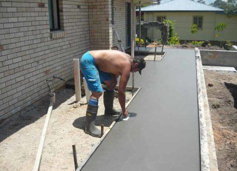 Concrete Footpaths | Concreting Services Gold Coast