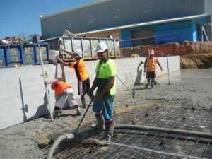 Full Throttle Concrete constructions - Concrete Slabs Construction