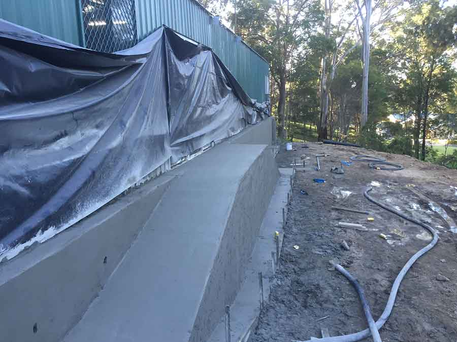 Full Throttle Concrete constructions - Shed Slab Footing