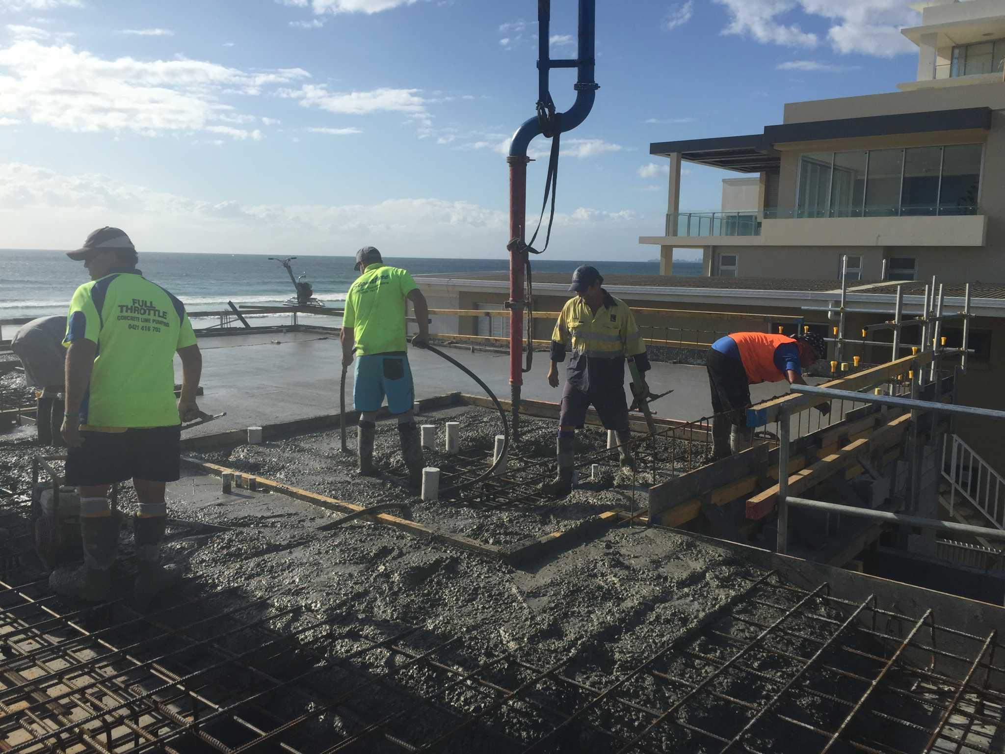 Concrete Slabs - Full Throttle Constructions