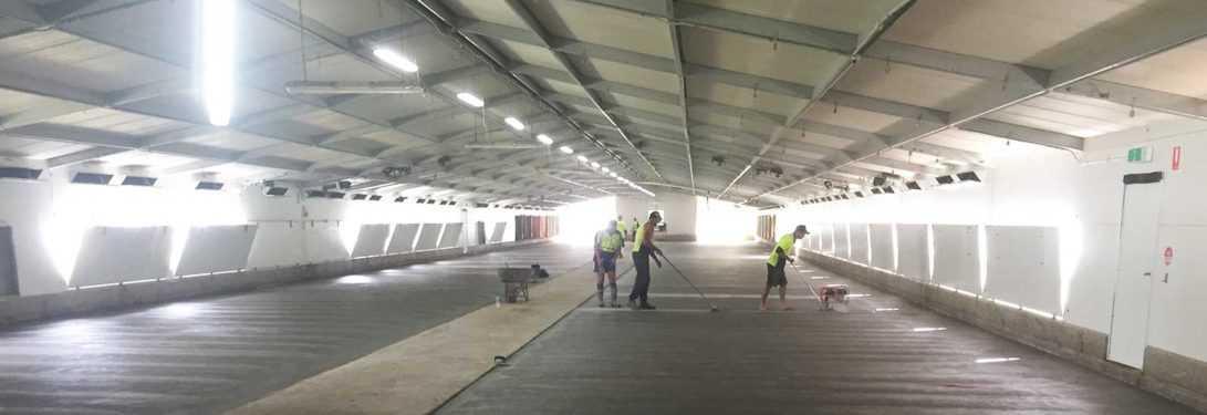 Full Throttle Concrete constructions - Concrete Slab Services Working