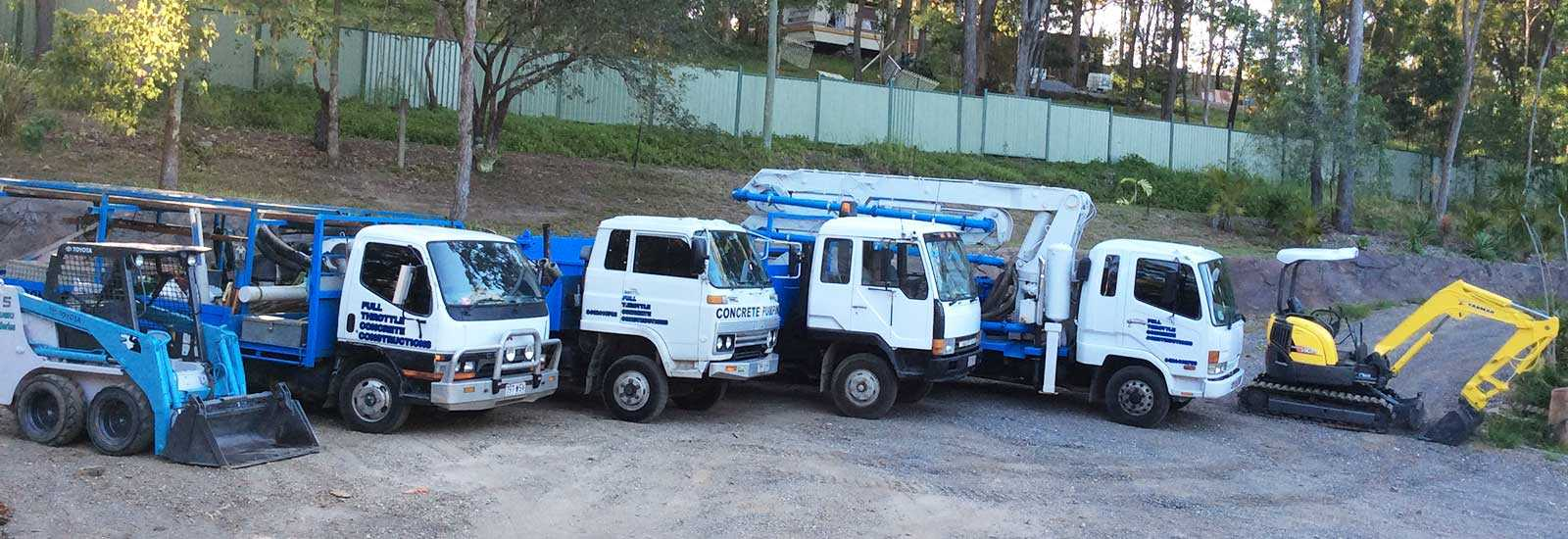 Full Throttle Concrete constructions - Machinery and Equipment Concrete Machines
