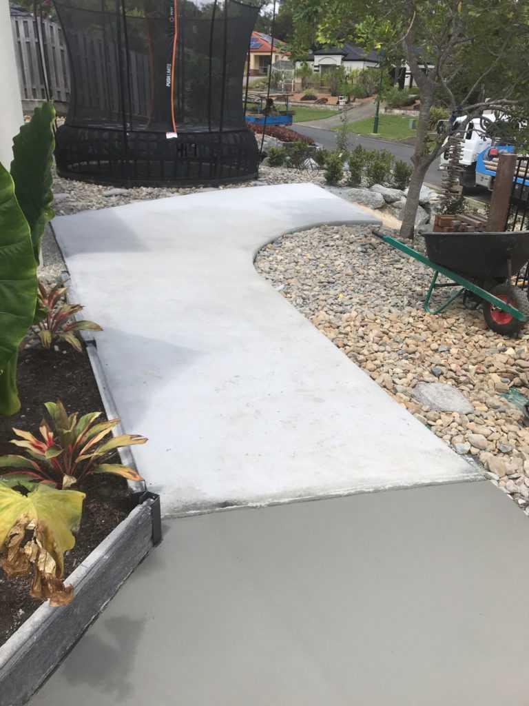 Concreting palm beach